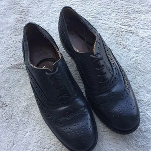 Zara shoes leather
